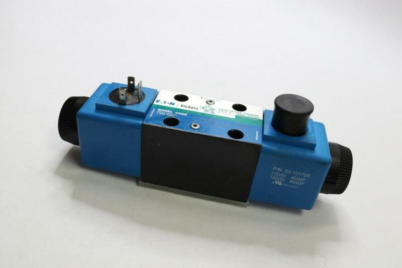Vickers (Eaton) 02-101726 Directional Control Valve - Solenoid Actuation, 4-Way