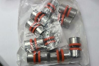 Pack Of 10 - Viega 49405 1 Pex X 1 Pex Pure Flow Press Coupling