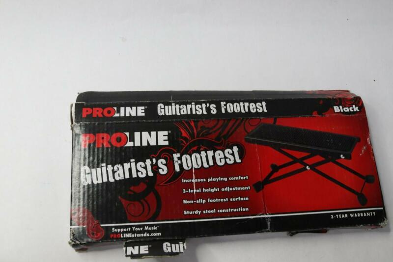 Proline FR1BK Adjustable Black Non Slip Guitarist