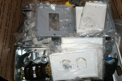 25 Lbs - Lot Of Assorted Electrical Accessories