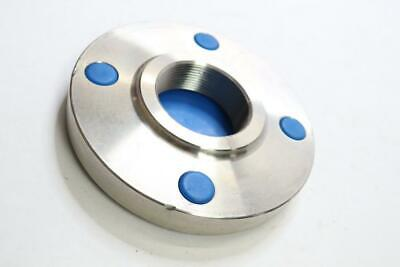Pack Of 1 - Threaded Stainless Steel Raised Face Pipe Flange 2