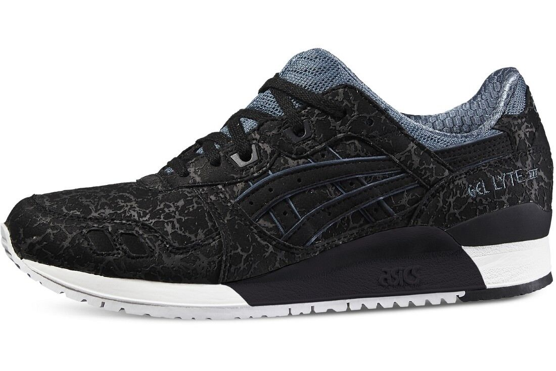 newest 6e654 93d23 ASICS GEL-Lyte III Galaxy Pack Black Slate/White H6U2Y-9090 Men's Size 8~11