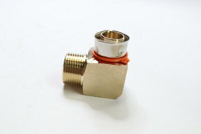 Pack Of 10 - Viega 92560 Pureflow Zero Lead Bronze Pex Press Elbow 1 X 1