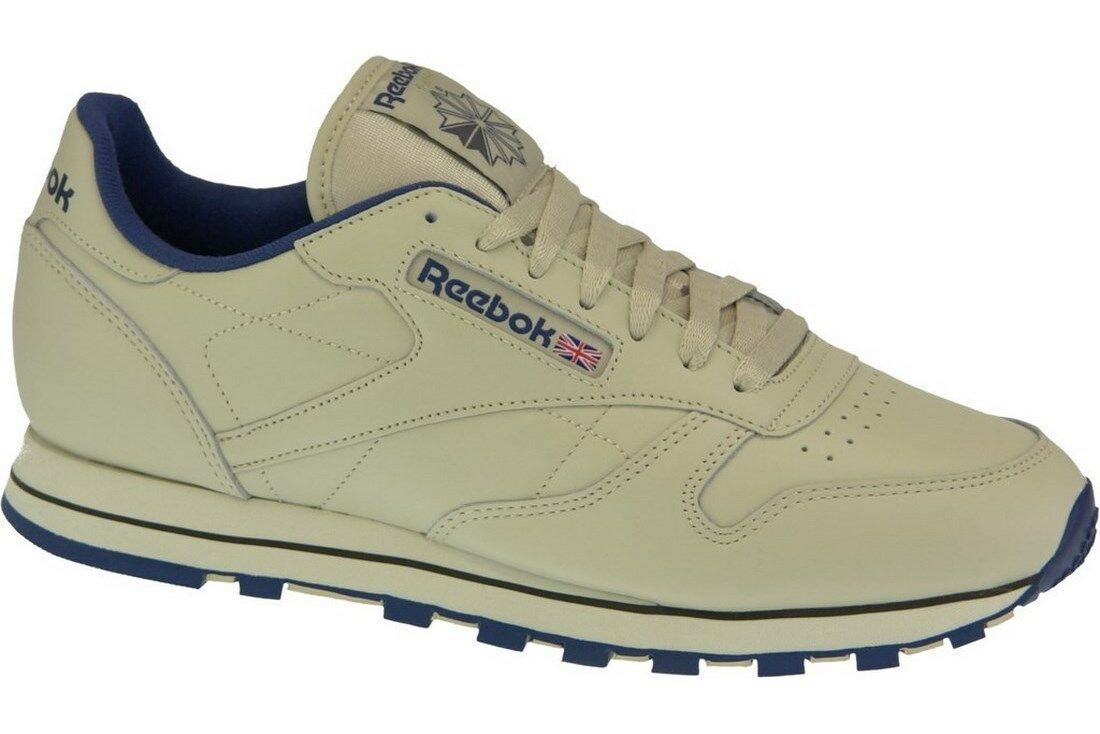 d8e5e3027e492 Reebok Shoes Trainers Classic Leather 28412 Beige Ecru Unisex ...
