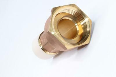 Qty 70 - Water Meter Coupling W Washer 1 Male 1-14 Female Red Brass