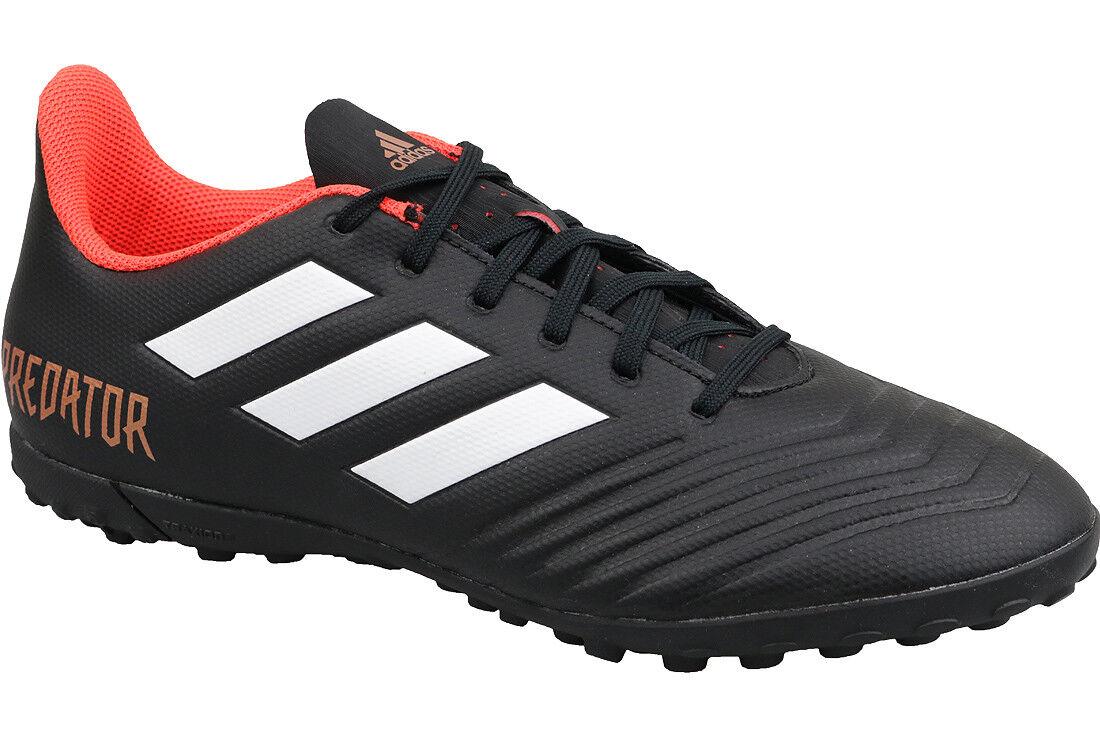 c079e32e7dbc adidas Predator Tango 18.4 TF Black White Red Mens Soccer Shoes ...