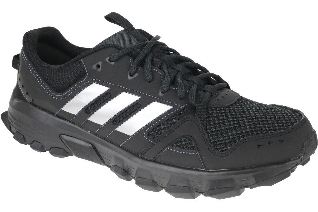 bf5c7730924e0 adidas Mens Rockadia Trail Shoes Black Sports Running Breathable ...