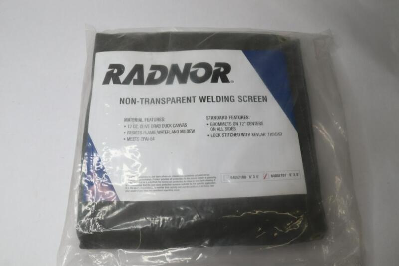 Radnor RAD64052101 Non-Transparent Welding Screen 6