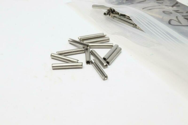 """2870 Pcs Slotted Spring Pin 1/8"""" x 3/4"""" Steel"""