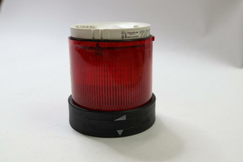 Schneider XVB C2B4 Electric Red Steady LED Beacon