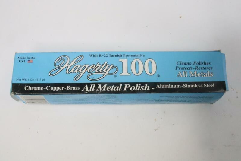 Qty 3- Hagerty 100 All Metal Polish 4oz