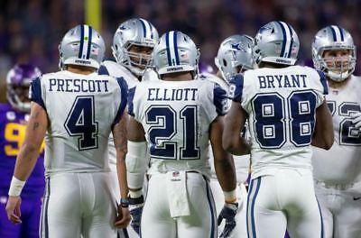 DALLAS  COWBOYS  -   DAK  PRESCOTT   -     11  X  17  GLOSSY   PHOTO  REPRINT (Dallas Cowboys 17)