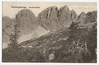 Gruttenhütte, Ellmauer Halt, Wilder Kaiser, Going, Ellmau, Berghütte, ca. 1920
