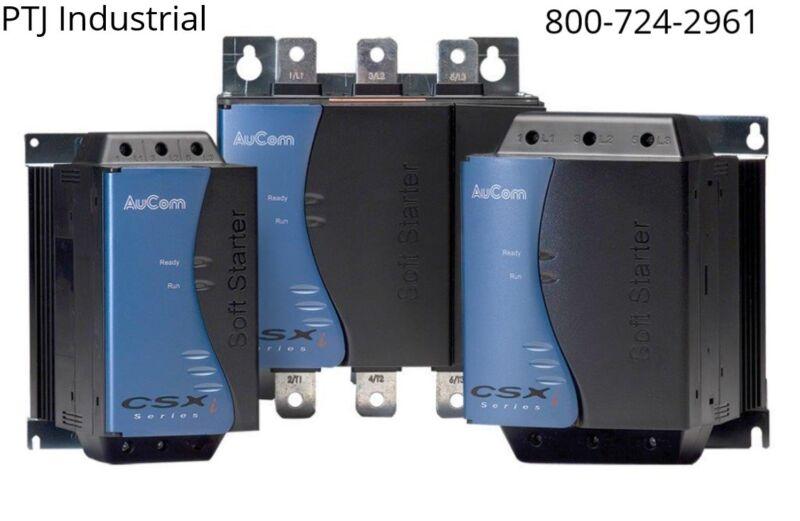 30 hp soft start 48 amp Aucom CSXI-022-V6-C1 New
