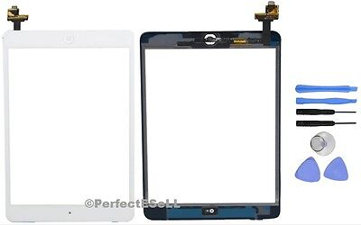 Touch Glass Digitizer Screen IC Connector Replacement For iPad Mini 1 2 White US