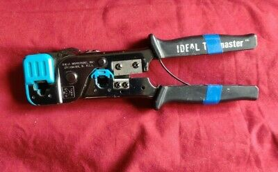 Ideal Telemaster Phone Crimper Tool Rj-11 4981032