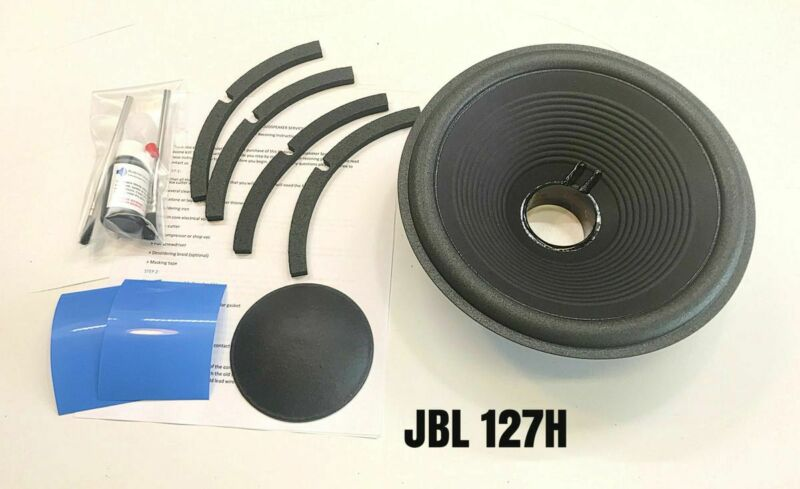 """Reproduction Drop In Recone Kit for JBL, 125A, 127A, 127H, 10"""" Woofer"""