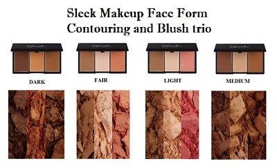 Sleek Makeup Face Form Contouring and Blush Palette face kit - All (Sleek Face Form Contouring And Blush Palette)