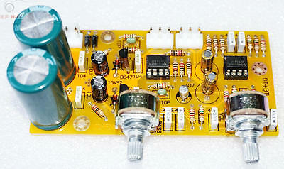 Low Pass Filter Electronic Crossover Subwoofer Preamp Frequency 50hz To150hz