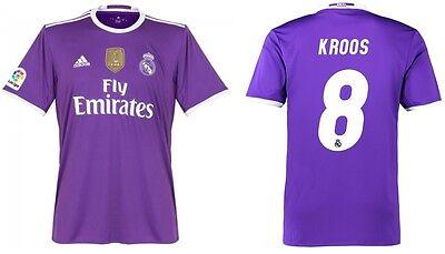 Trikot Adidas Real Madrid 2016-2017 Away WC Kroos - Badge Klubweltmeister (Real Madrid Wc)