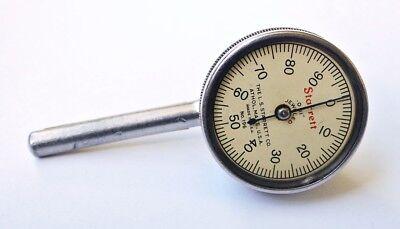 Starrett .2 Horizontal Dial Test Indicator .001 Graduations Model 196 Usa