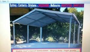 New  carport  6 x 6  $ 1650 or 6 x 9  $2550 Thomastown Whittlesea Area Preview
