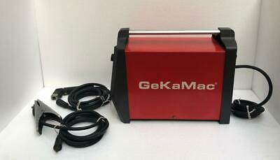 Gekamac Power Arc 250 Welding Machine 3 Phase 380v 250a -free Shipping-