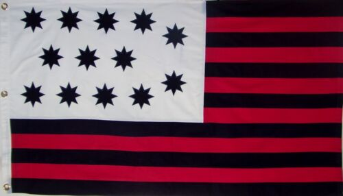 SEWN COTTON GUILFORD COURTHOUSE FLAG  AMERICAN REVOLUTION Gen. NATHANIEL GREENE