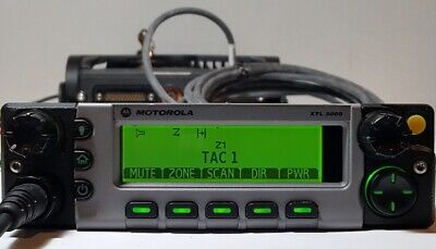 Motorola Xtl5000 Vhf 110w Remote Mount P25 Digital Mobile Radio M20kts9pw1an