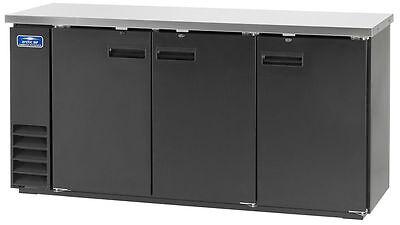 Arctic Air 72 3 Solid Door Back Bar Cooler - Abb72