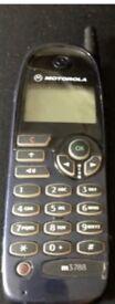 Retro Vintage Classic Brick Motorola Mobil Phones m3788 For parts or as a Prop