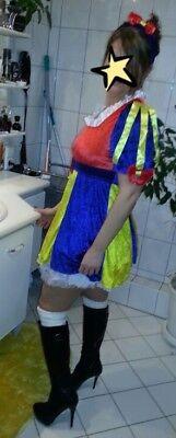 Sexy Schneewittchen Kostüm für Damen Prinzessin Märchen Kleid Fasching Gr. - Schneewittchen Kostüm Sexy