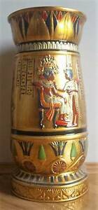 Egyptian Ancient Vase Collectible Centerpiece Flower stand Art Butler Wanneroo Area Preview