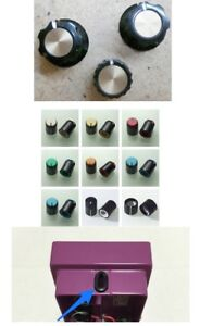 Boss pedal knobs and parts