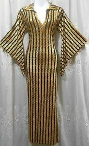 Belly Dance Costume Set - Saidi with Cane, Hip Scarf and Belts
