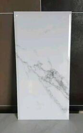 Maddison carrara marble effect tile sale
