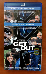 Get Out Blu Ray with slipcover