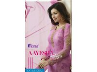FIONA AYESHA TAKIA VOL 10 WHOLESALE DESIGNER STRAIGHT SUITS IN TEXTILEDEAL.IN