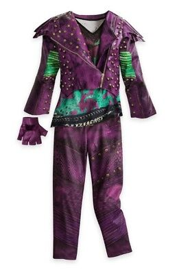 NWT Disney Store Descendants 2 Mal Halloween Costume Dress up size All - All Girl Halloween Costumes
