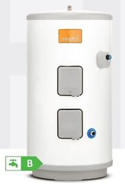 Brand New Heatrae Sadia MEGAFLO Eco Unvented Direct Hot Water Cylinder, 125DD, part no 95:050:462.
