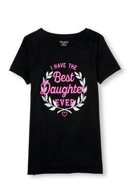 Children's Place Women I HAVE THE BEST DAUGHTER EVER Tee T-Shirt, Size L (Best Shoes Ever Women)