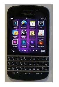 CELLULAIRE DEBARRE Blackberry Q10 16GB/ 2GB RAM/ Touch Screen/ W