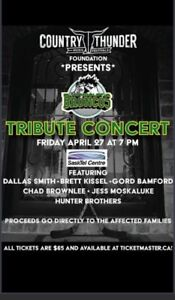 Broncos tribute concert by country thunder