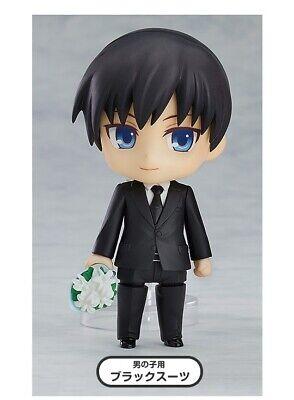 Good Dress Up (Good Smile Nendoroid More Dress Up Suits 02 Male Black Suit Bouquet Figure)
