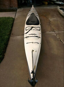 Eddy Line Fiberglass/Kevlar construction sea Kayak