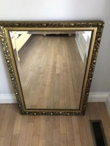 Antique Accent Wall Mirror
