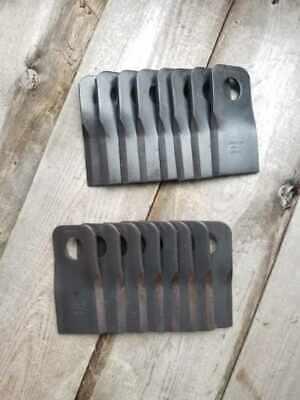 H7230h7330 New Holland Disc Mower Blades - Oem Part Number 48054133 48054136