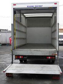 Man And Van, Removals Service, Luton Van