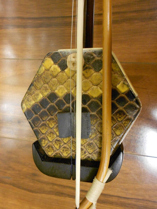 Erhu - Dunhuang Collection Aged Rosewood Chinese Violin Fiddle