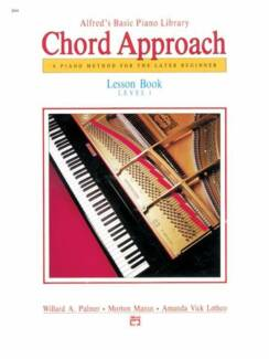 Alfred's Basic Piano Library - Chord Approach (level 1)